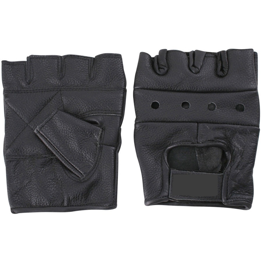 Weight lifting gloves 100% real leather